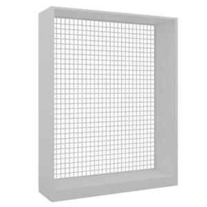 SN-619 디스플레이 철망 사각형 백색W630,930,1230 ×D300×H1315~2115mm철망,프레임색상 선택가능▶메시철망/메쉬 철망/메쉬망/휀스망/매시철망/스텐철망/휀스철망/후크/브라켓/진열철망/인테리어망